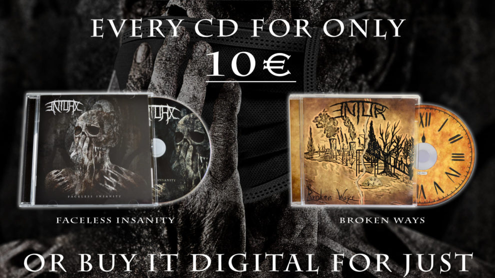 ENTORX - Progessive Death / Thrash Metal from Germany - CD Sale