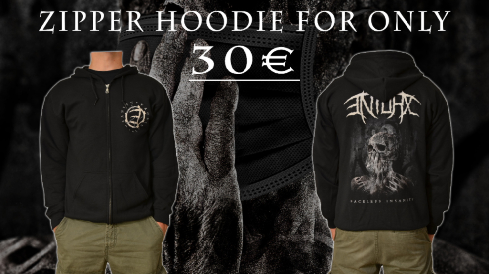 ENTORX - Prorgessive Death / Thrash Metal from Germany - Zipper Hoodie Sale