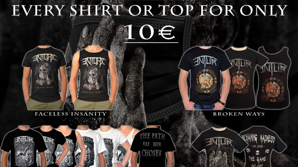 ENTORX - Prorgessive Death / Thrash Metal from Germany - Shirt and Top Sale